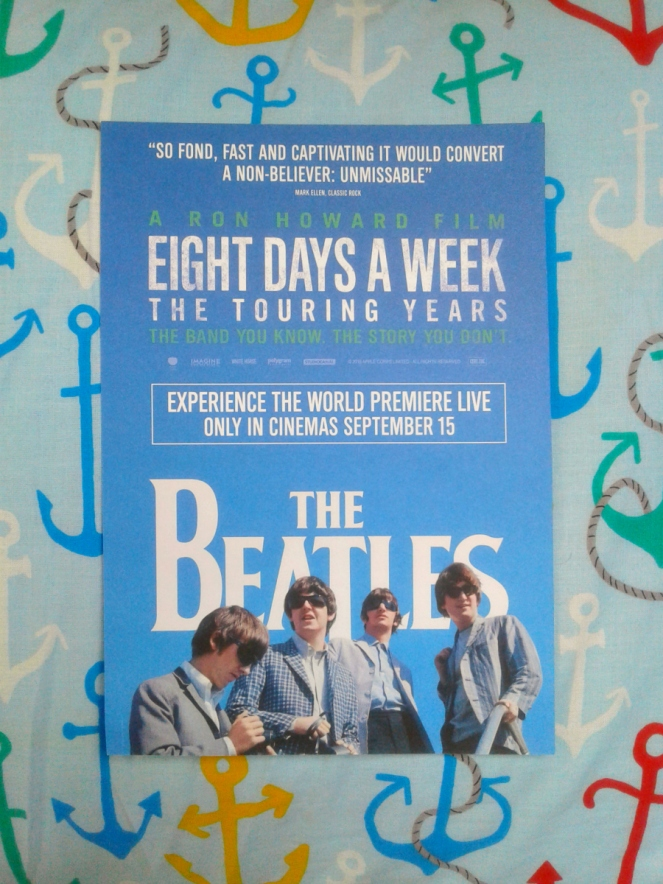 The Beatles Eight Days A Week The Touring Years Film