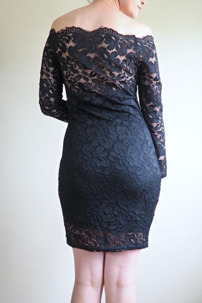 Acevog Review Black Lace Dress Fashion Blog Blogger
