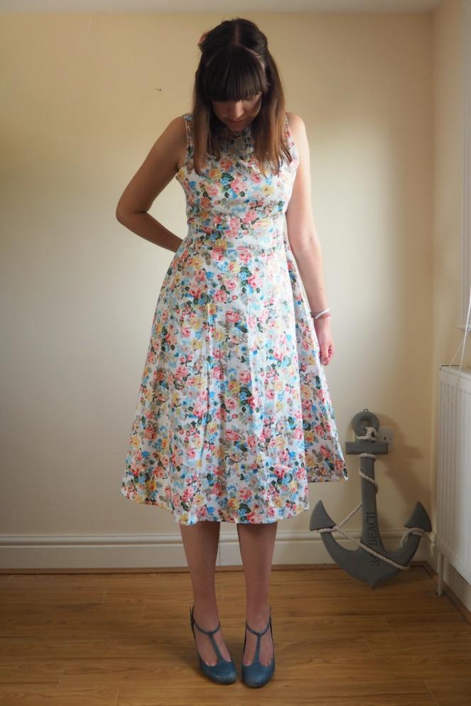 Acevog Dress Review Vintage Style Fashion Blog Blogger