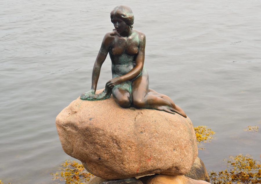 Copenhagen Little Mermaid Statue Travel Blog Blogger