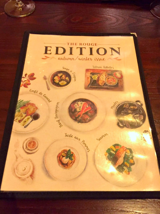 Cafe Rouge Autumn-Winter Issue New Menu London Food Blog Blogger
