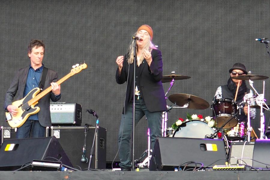 Patti Smith at BST Festival Hyde Park 2016 London Music Blog Blogger