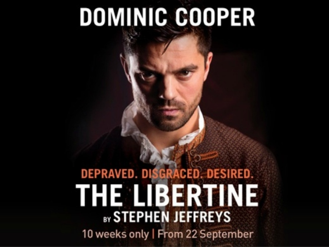Dominic Cooper in The Libertine West End Theatre London Blog Blogger