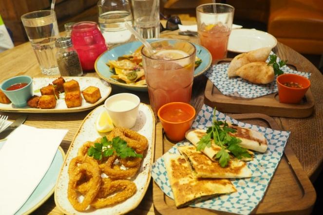 Dinner at Las Iguanas London Food Blog Blogger