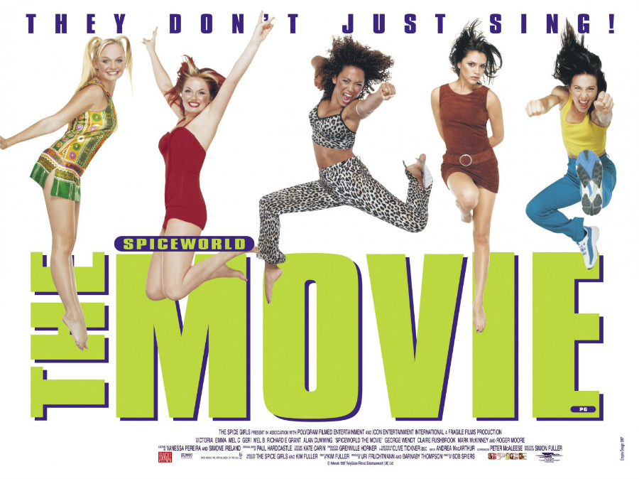 Spiceworld The Movie Spice Girls Film Blog Blogger