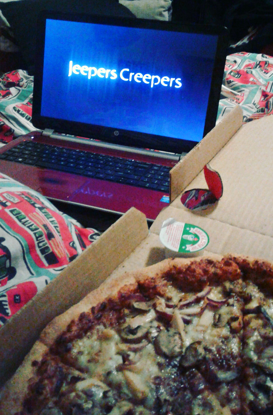 Jeepers Creepers Netflix Movie Pizza Night