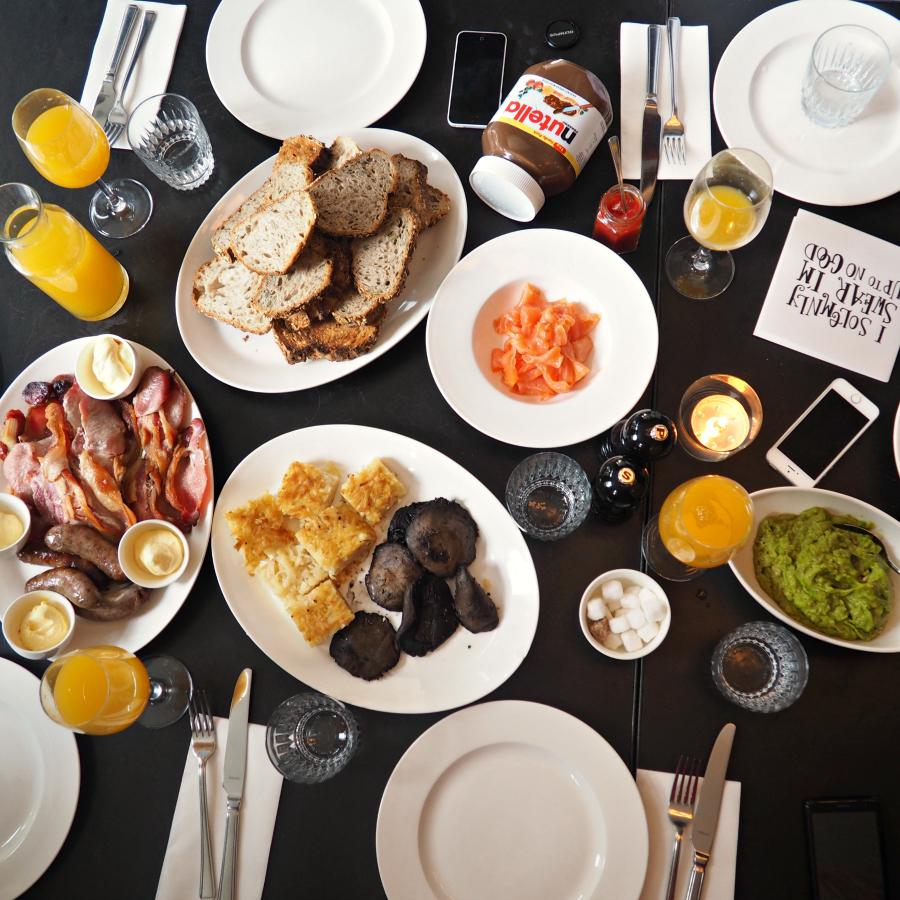 Bourne and Hollingsworth Bottomless Bellini Brunch London Food Blog Blogger