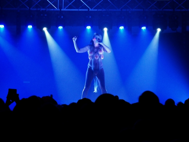 Peaches Live at Oval Space 2016 London Music Blog Blogger