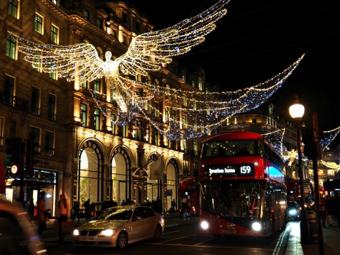 Regent Street Christmas Lights London Blog Blogger