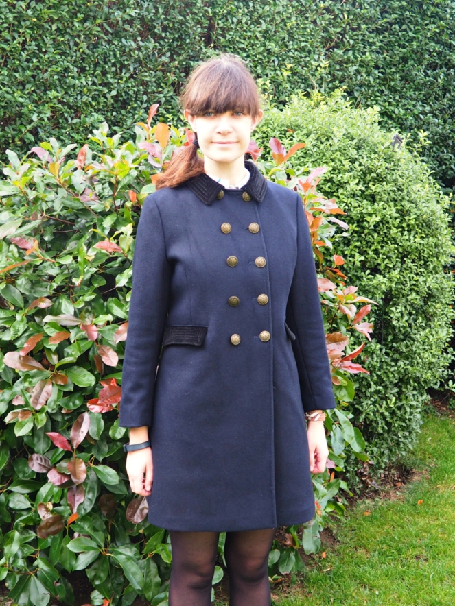 The Templar Coat from Archive by Alexa Chung Collection at Marks & Spencer Fashion Blog Blogger