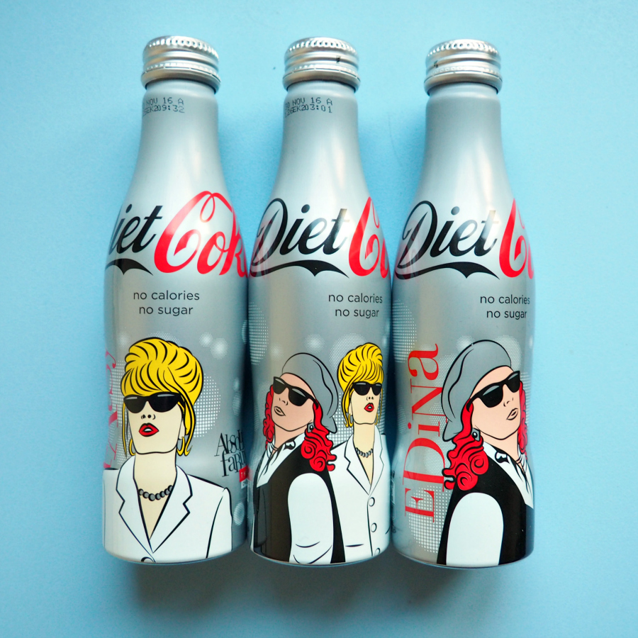 Absolutely Fabulous Special Limited Edition Diet Coke Cola