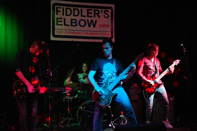 Red Hook Band Live at Fiddlers Elbow Camden London Music Blog Blogger