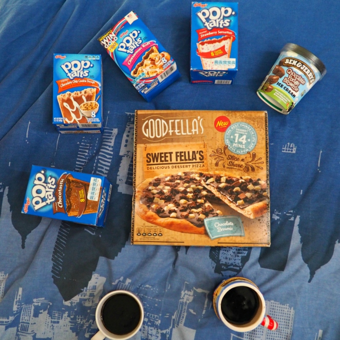 Gilmore Girls Revival Day Pop Tarts Sweet Pizza and Coffee Coke Cola
