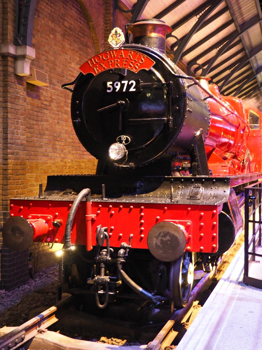 Harry Potter Warner Brothers Studio Tour Hodwarts Express