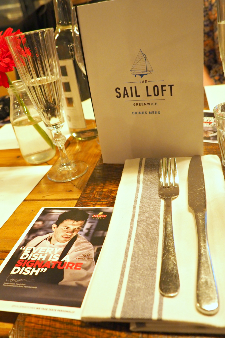 Secret Super with Fuller's Kitchen at The Sail Loft Cutty Sark London Food Blog Blogger