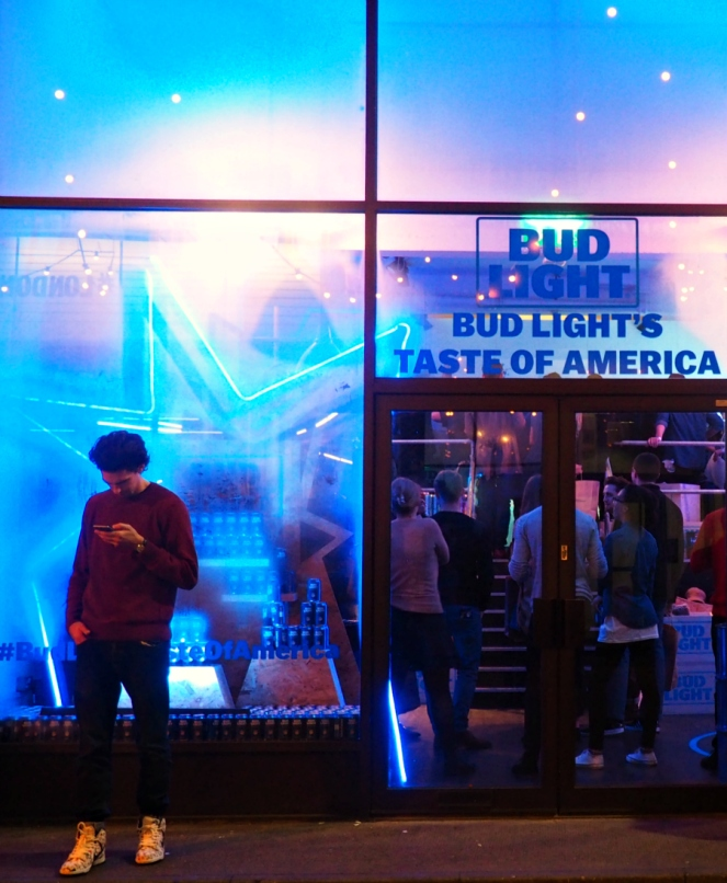 Bud Light Taste of America London Concept Pop-Up Store