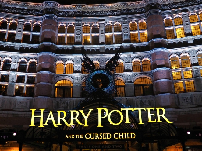 Harry Potter and the Cursed Child West End Theatre Show London Blog Blogger