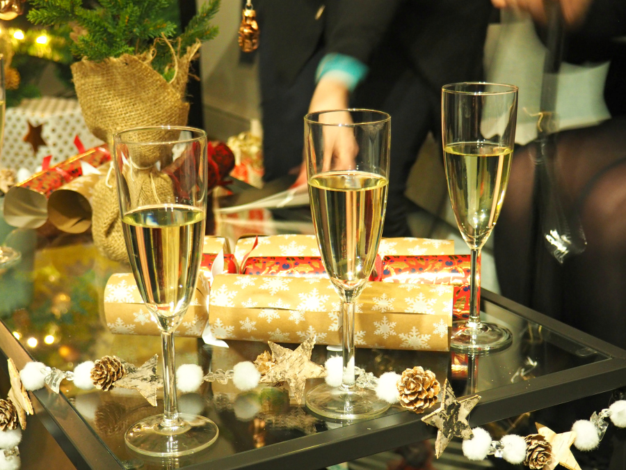 John Lewis Christmas Champagne Drink Alcohol