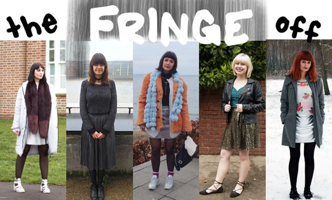 The Fringe-Off Metallic Style London Fashion Blog Blogger
