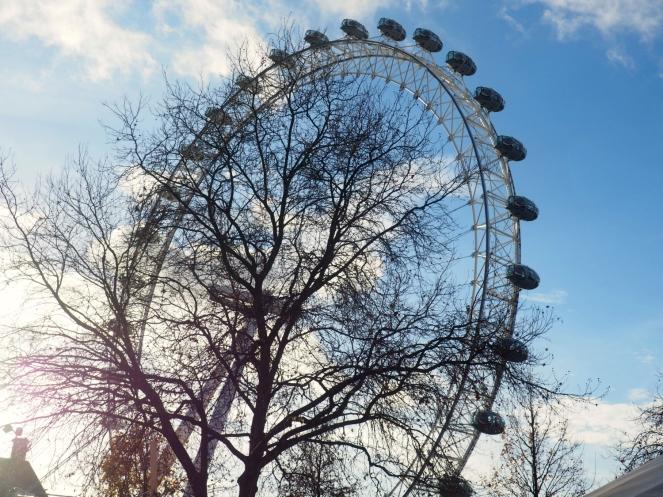 London Eye Sunshine