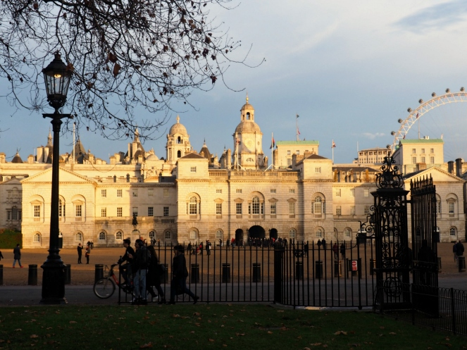 Horse Guards Parade London Eye