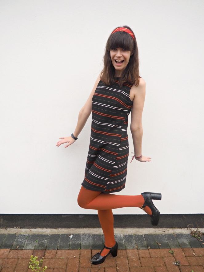 Apricot Clothing Sale Striped Stripey Dress Sixties 60s Style Fashion Blog Blogger
