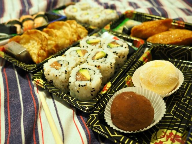 Sushi Takeaway Food Blog Blogger