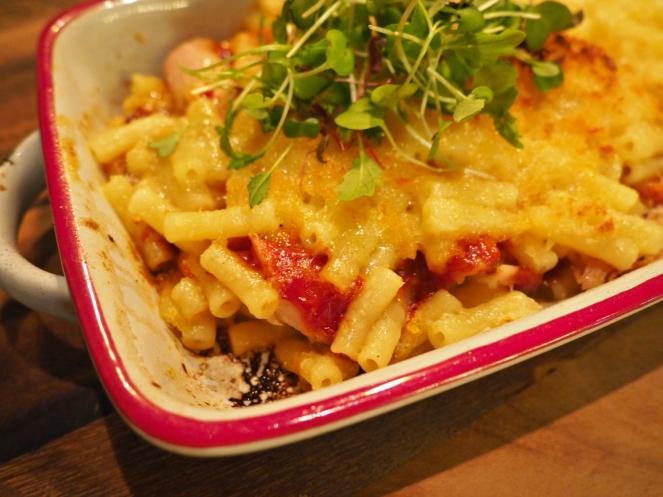 Tank and Paddle Mac'n'cheese pasta London Food Blog Blogger