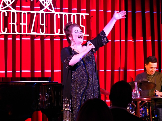 Katie Brennan's Quarter Life Crisis One Woman Cabaret Show at Brasserie Zedel London Blog Blogger