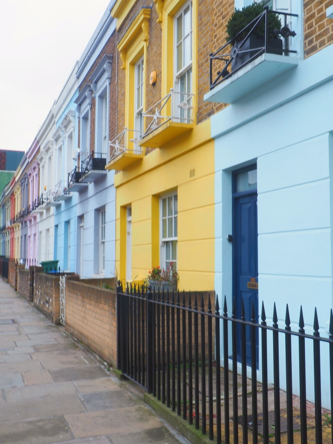London Colourful Houses Hartland Road Camden Kentish Town