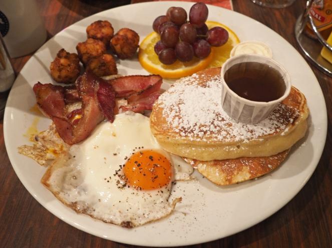 The Diner Shoreditch Lumberjack Breakfast London Food Blog Blogger
